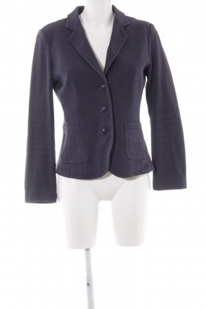 Opus Sweatblazer stahlblau Casual-Look