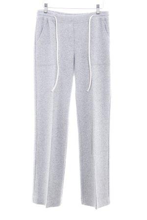 Opus Sweat Pants light grey-grey flecked casual look