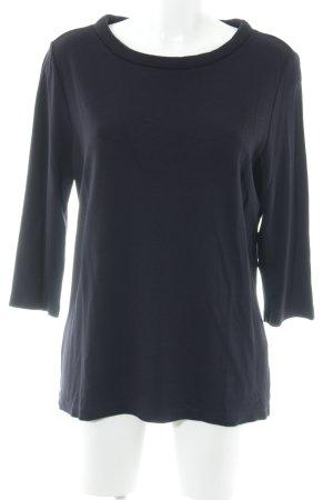 Opus Sweatshirt dunkelblau Casual-Look