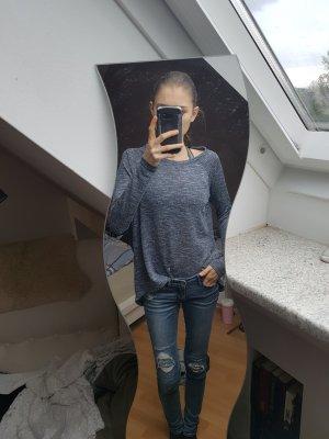 Opus Sweatshirt grau/blau