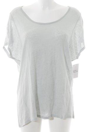 Opus T-Shirt blassblau Casual-Look