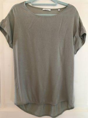 Opus T-Shirt Blusenshirt grün Gr. 36