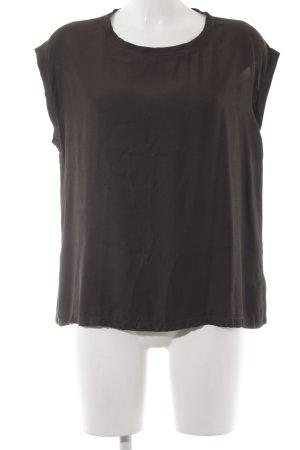 Opus T-Shirt dunkelgrün klassischer Stil