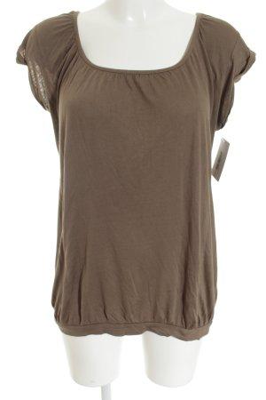 Opus T-Shirt grüngrau Casual-Look