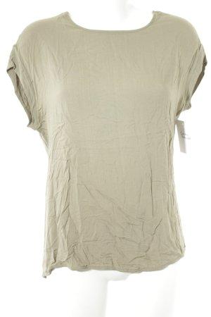 Opus T-Shirt grüngrau-khaki Casual-Look