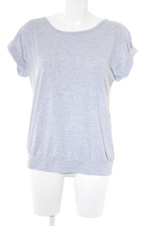 Opus T-shirt grigio chiaro stile casual