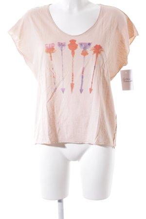 Opus T-Shirt mehrfarbig Beach-Look