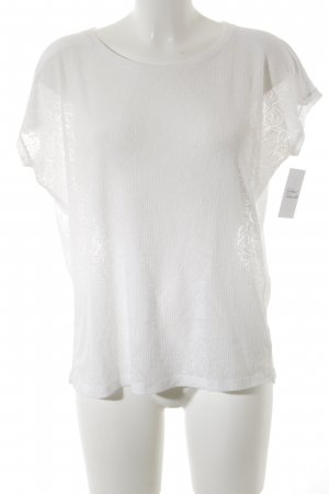Opus T-shirt bianco stile casual