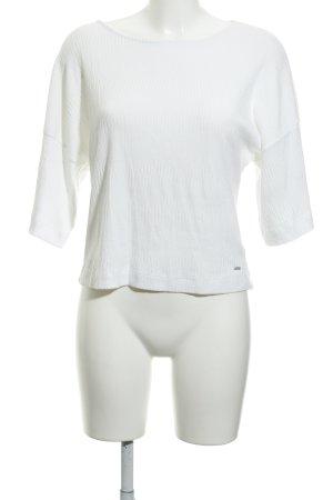 Opus T-Shirt weiß Casual-Look