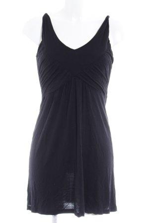Opus Trägerkleid schwarz schlichter Stil
