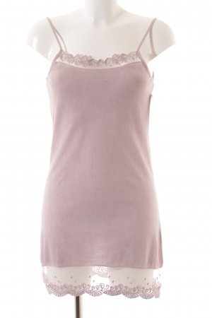 Opus Strappy Top dusky pink casual look