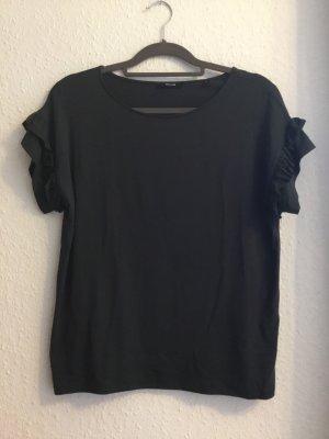 Opus Tshirt mit Volant khaki
