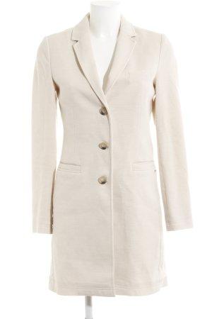 Opus Cappotto mezza stagione crema-bianco puntinato stile casual