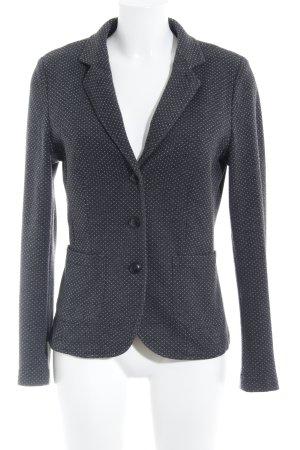 Opus Woll-Blazer anthrazit-wollweiß schlichter Stil