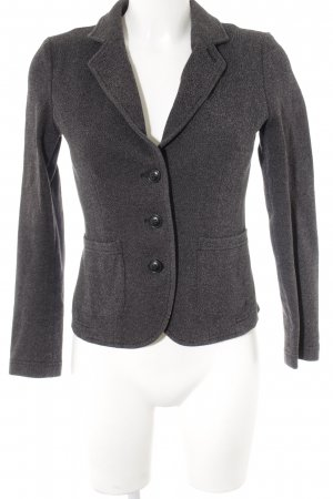Opus Wool Blazer light grey-taupe spot pattern business style