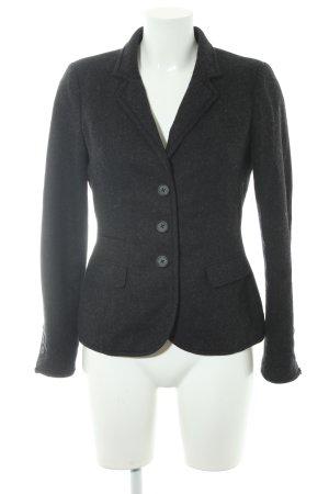 Opus Woll-Blazer schwarz-dunkelgrau Business-Look
