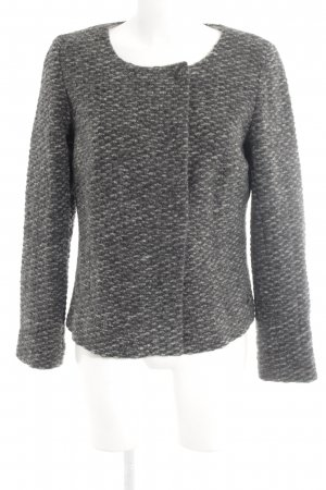Opus Wool Jacket dark grey flecked casual look