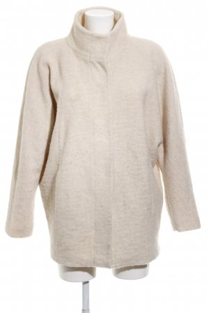 Opus Wollmantel creme Casual-Look