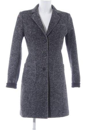 Opus Cappotto in lana grigio puntinato stile casual