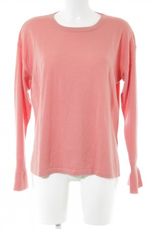 Opus Wollpullover pink Casual-Look