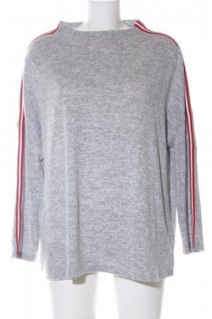 Opus Wollpullover meliert Casual-Look
