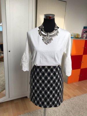 Opus Gonna di lana nero-grigio
