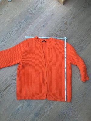 Orange Baumwollcardigan von Joe Taft