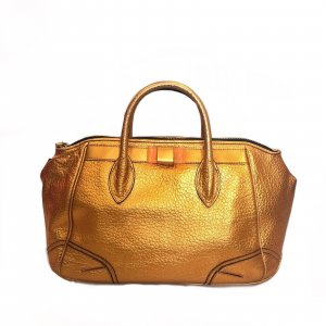 Orange  Burberry Prorsum Shoulder Bag