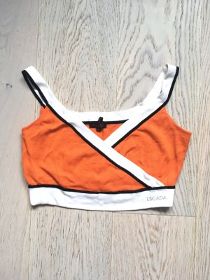 Orange Bustier Top Escada