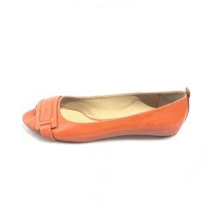 Orange  Chloe Flat