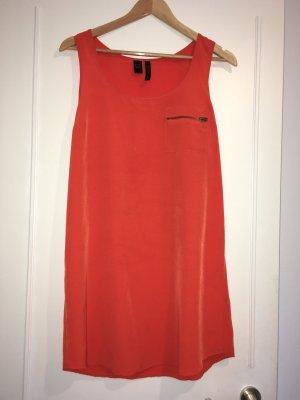 Orange Farbenes Kleid von Mango