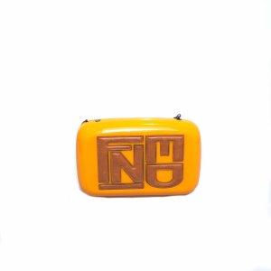 Orange  Fendi Cross Body Bag