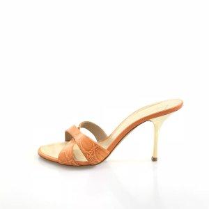 Orange  Giuseppe Zanotti Flip Flop