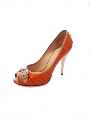 Giuseppe Zanotti High-Heeled Sandals orange