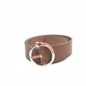 Orange  Gucci Belt