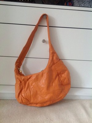 Orange handschuhweiche Tasche von friis and company