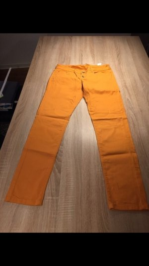 orange hose von zara