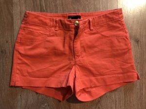 Orange Hotpants Shorts von H&M, Größe 36