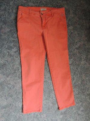 Orange Jeans von Mac