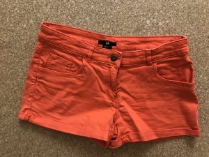Orange Jeansshorts Gr.36