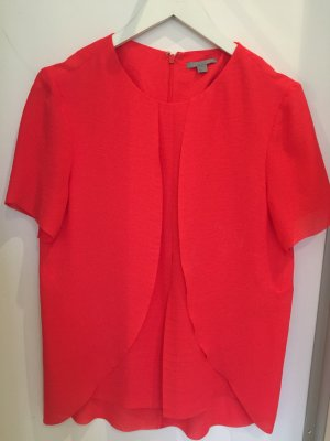 Orange/Korall farbene COS Bluse neu
