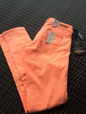 Orange MAVI Jeans mit Etikett