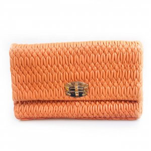 Orange  Miu Miu Clutch