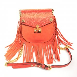 Orange  Moschino Cross Body Bag