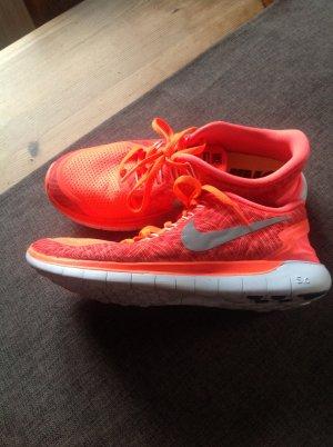 Orange Nike Sneaker
