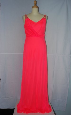 Orange/ Pinkes Abendkleid von Peek&Cloppenburg