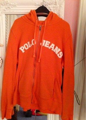 Orange Polo Jeans Jacke