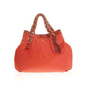 Orange  Prada Shoulder Bag