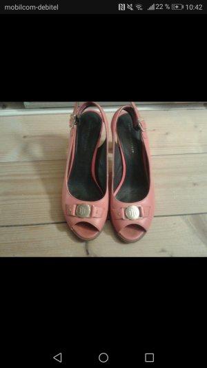 orange pumps Sandalen von Tommy Hilfiger
