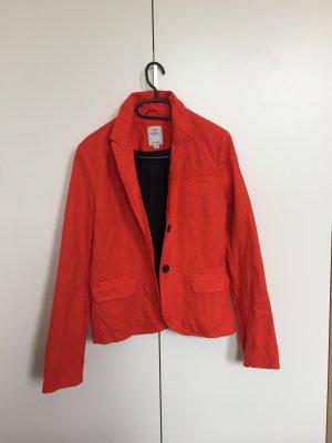 s.Oliver Blazer en laine rouge-orange
